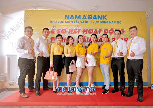 Lễ Sơ kết hoạt động 6 tháng đầu năm và kế hoạch 6 tháng cuối năm 2019 tại NAM A BANK